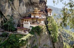 Tiger Nest at Bhutan